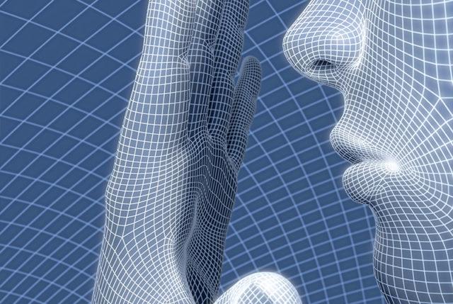Oberflächenraster des menschlichen Körpers, Computer-Darstellung